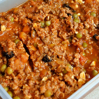 Vegan Picadillo Lentil Stew With Peppers And Green Olives Recipes ...