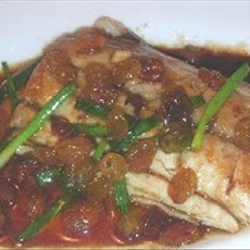 Fish Fillet With Honey Lemon Sauce