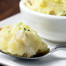 Crab and Goat Cheese Mashed Potatoes