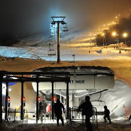 Winter in Stranda  by Per Alnes - Sports & Fitness Snow Sports