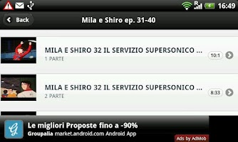 Screenshot of Mila e Shiro