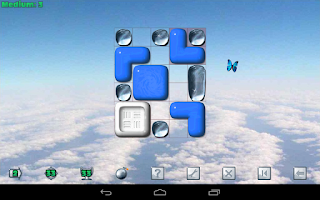 Screenshot of Sticky Blocks Sliding Puzzle