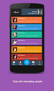 Usher-Share,Meet,Chat,Help - screenshot