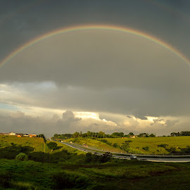 ... by Matheus Dalmazzo - News & Events Weather & Storms ( itapetininga, cinestudio, rainbow, panoramic )