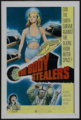 The Body Stealers (1969, UK) movie poster