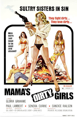 Mama's Dirty Girls (1974, USA) movie poster