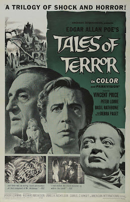 Tales of Terror (1962, USA) movie poster