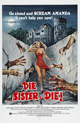 Die Sister, Die! (1972, USA) movie poster