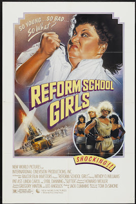 Reform School Girls (1986, USA) movie poster