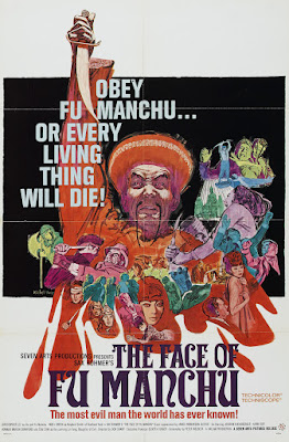 The Face of Fu Manchu (aka The Mask of Fu Manchu) (1965, UK / Germany) movie poster