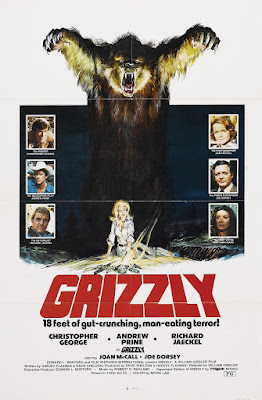 Grizzly (1976, USA) movie poster