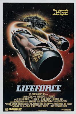 Lifeforce (1985, UK) movie poster