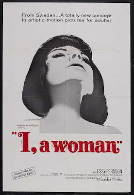 I, a Woman (Jag - en kvinna) (1965, Sweden) movie poster