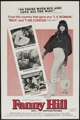 Fanny Hill (aka The Swedish Fanny Hill) (1968, Sweden) movie poster