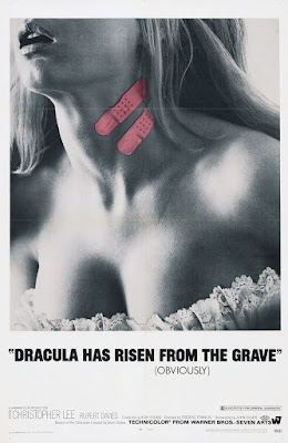 Dracula Has Risen from the Grave (1968, UK) movie poster