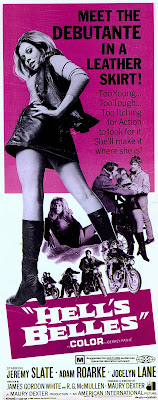 Hell's Belles (1970, USA) movie poster