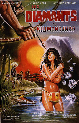 Diamonds of Kilimandjaro (El Tesoro de la diosa blanca, aka The Treasure of the White Goddess) (1983, Spain / France) movie poster