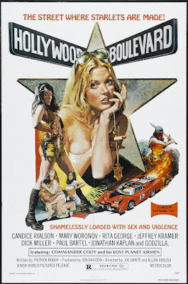 Hollywood Boulevard (1976, USA) movie poster