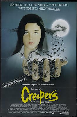 Phenomena (aka Creepers) (1985, Italy) movie poster