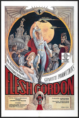Flesh Gordon (1974, USA) movie poster