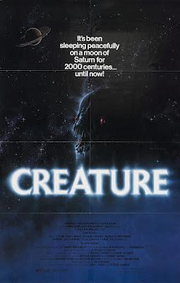 Creature (1985, USA) movie poster