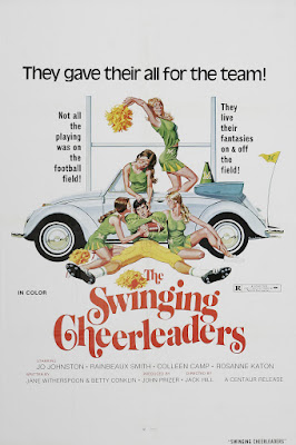 The Swinging Cheerleaders (1974, USA) movie poster