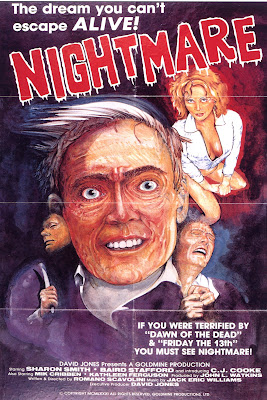 Nightmare (aka Nightmare in a Damaged Brain) (1981, USA) movie poster