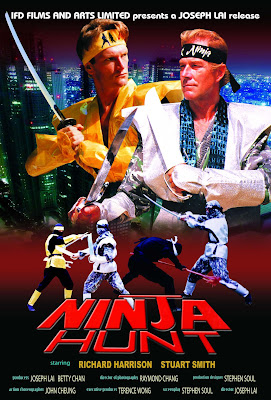 Ninja Hunt (1986, Hong Kong) movie poster