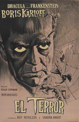 The Terror (1963, USA) movie poster