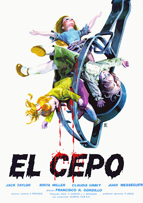 The Icebox Murders (El Cepo / The Trap) (1982, Spain) movie poster