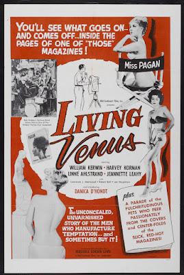 Living Venus (1961, USA) movie poster