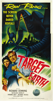 Target Earth (1954, USA) movie poster