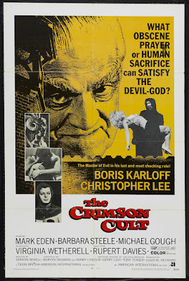 Curse of the Crimson Altar (aka The Crimson Cult) (1968, UK) movie poster