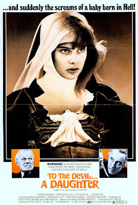To the Devil a Daughter (1976, UK) movie poster