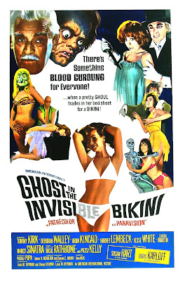 The Ghost in the Invisible Bikini (1966, USA) movie poster