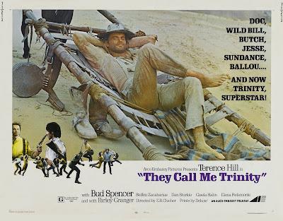 They Call Me Trinity (Lo chiamavano Trinità) (1970, Italy) movie poster