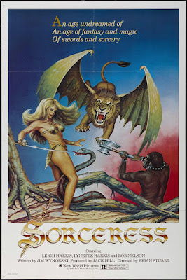 Sorceress (1982, USA / Mexico) movie poster