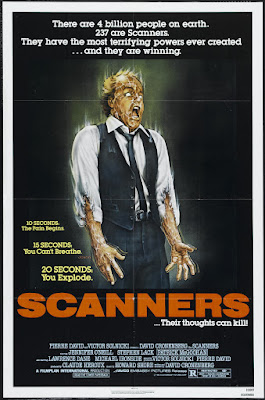 Scanners (1981, Canada) movie poster