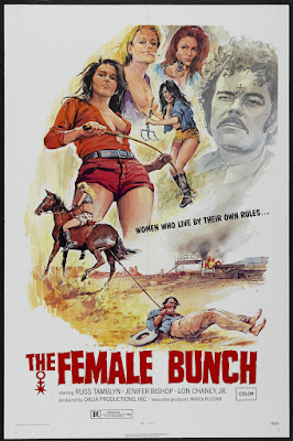 The Female Bunch (1969, USA) movie poster