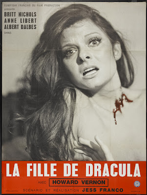 Daughter of Dracula (La Fille de Dracula) (1972, France / Portugal) movie poster