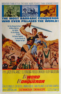 Sword of the Conqueror (Rosmunda e Alboino) (1962, Italy) movie poster
