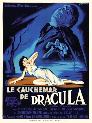 Dracula (aka Horror of Dracula) (1958, UK) movie poster
