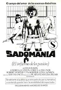 Sadomania (Sadomania - Hölle der Lust) (1981, Spain / Germany) movie poster