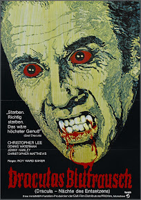 Scars of Dracula (1970, UK) German poster