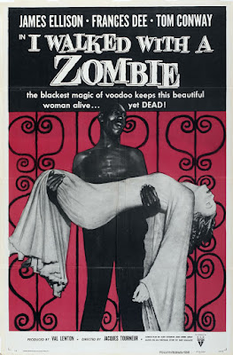 I Walked with a Zombie (1943, USA) movie poster
