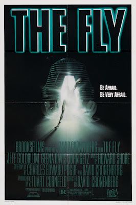 The Fly (1986, USA / Canada / UK) movie poster