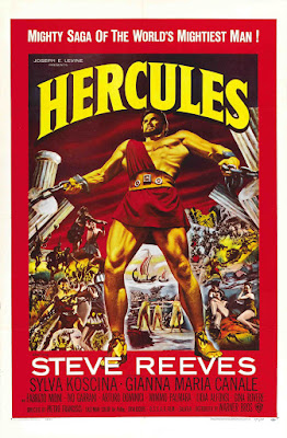 Hercules (Le Fatiche di Ercole / Labors of Hercules) (1958, Italy / Spain) movie poster