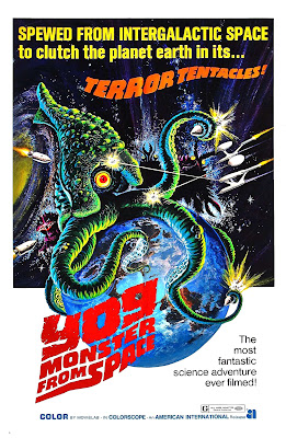 Space Amoeba (Gezora, Ganime, Kameba: Kessen! Nankai no daikaijû, aka Yog: Monster from Space) (1970, Japan) movie poster