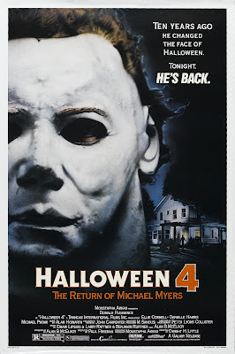 Halloween 4: The Return of Michael Myers (1988, USA) movie poster