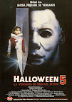 Halloween 5: The Revenge of Michael Myers (1989, USA) Spanish poster